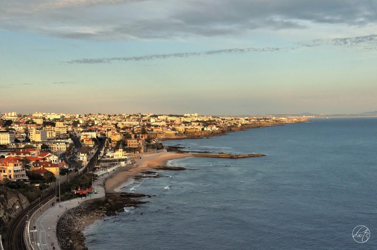 Estoril - niezwykle spokojne miasteczko